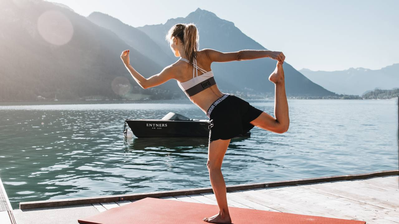Yoga am Achensee